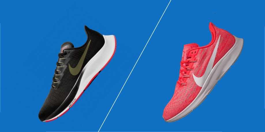 Giày chạy bộ nike pegasus 36 và pegasus 37