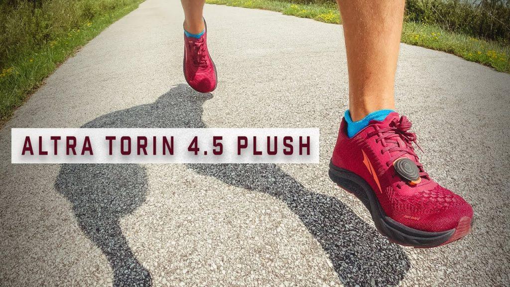 review giày chạy bộ Altra Torin 4.5 Plush