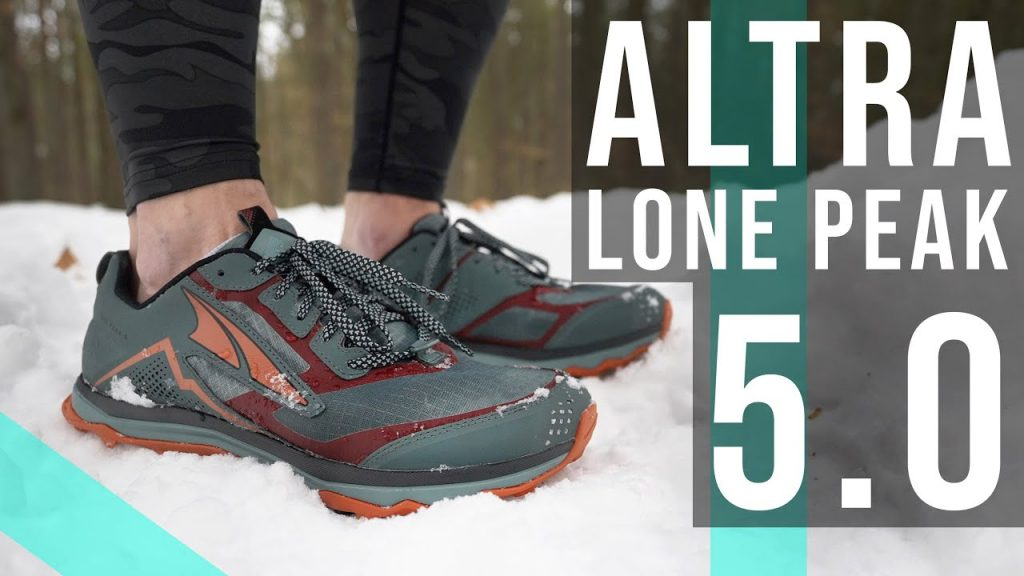 Review giày chay trail altra lone peak 5